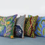Four-african-pillows