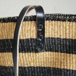 Black-natural-striped-sisal-tote-detail